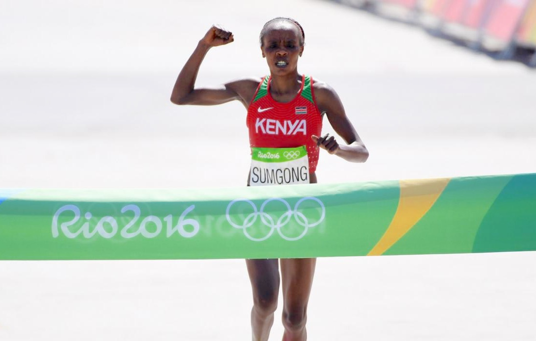 Olympic marathon champion Sumgong handed 4 year ban for EPO