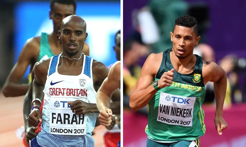 Mo Farah, van Niekerk chase IAAF Athlete of Year award