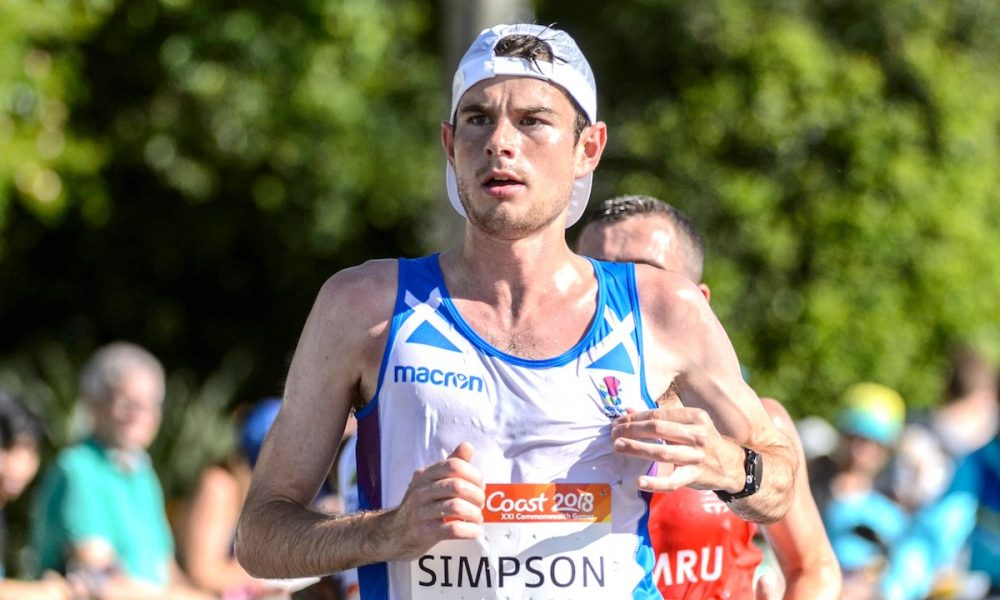 GC2018: Scotland's Callum collapses in closing stages of today's marathon