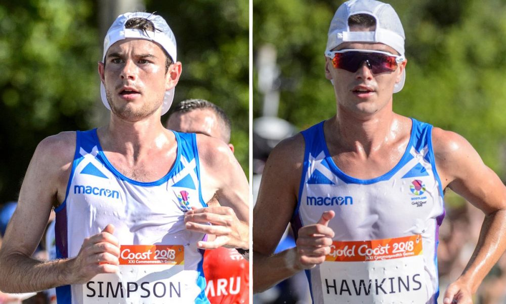 Commonwealth Games 2018: WATCH shocking moment Callum Hawkins COLLAPSES in marathon