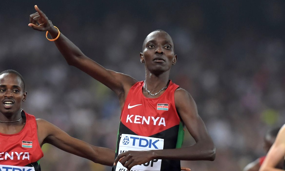 Asbel Kiprop fails drug test