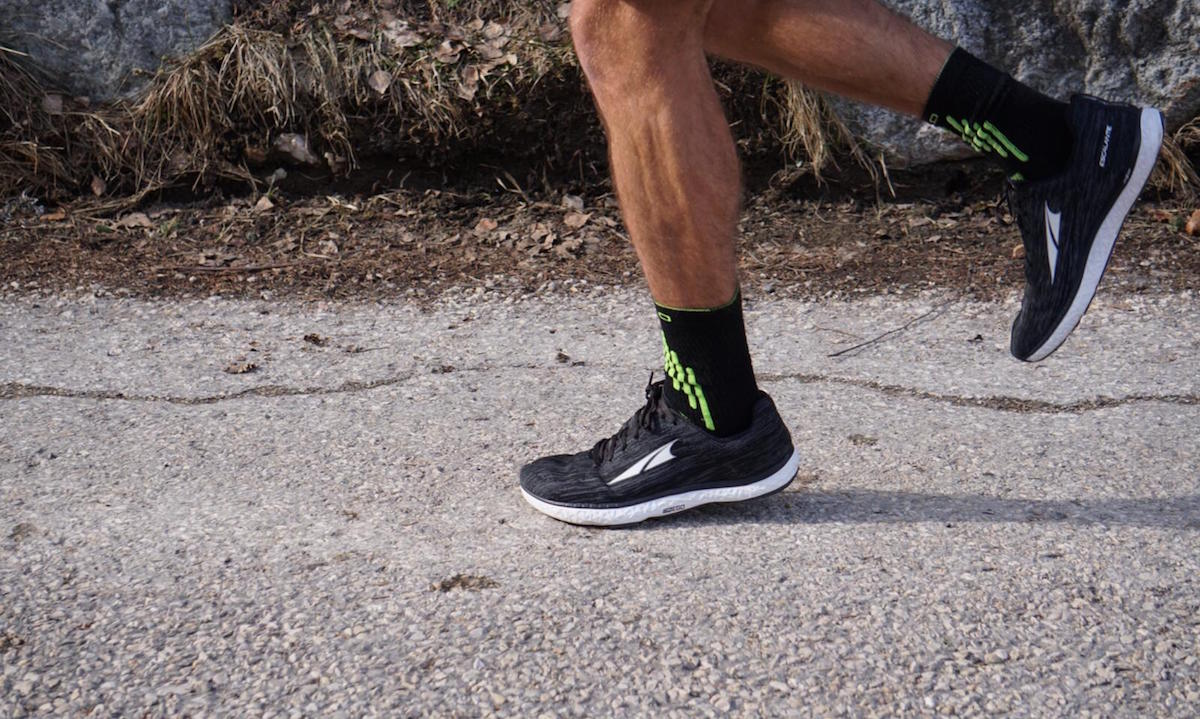 Zero drop road running with the Altra