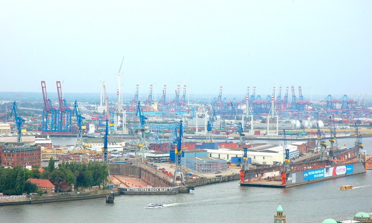 Hamburg-port